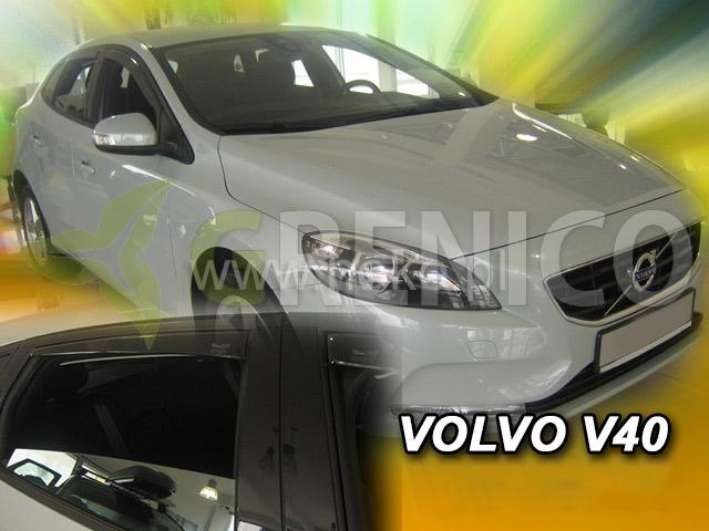 Windabweiser passend für Volvo V40 5 Türen 2012-2018 2tlg Heko