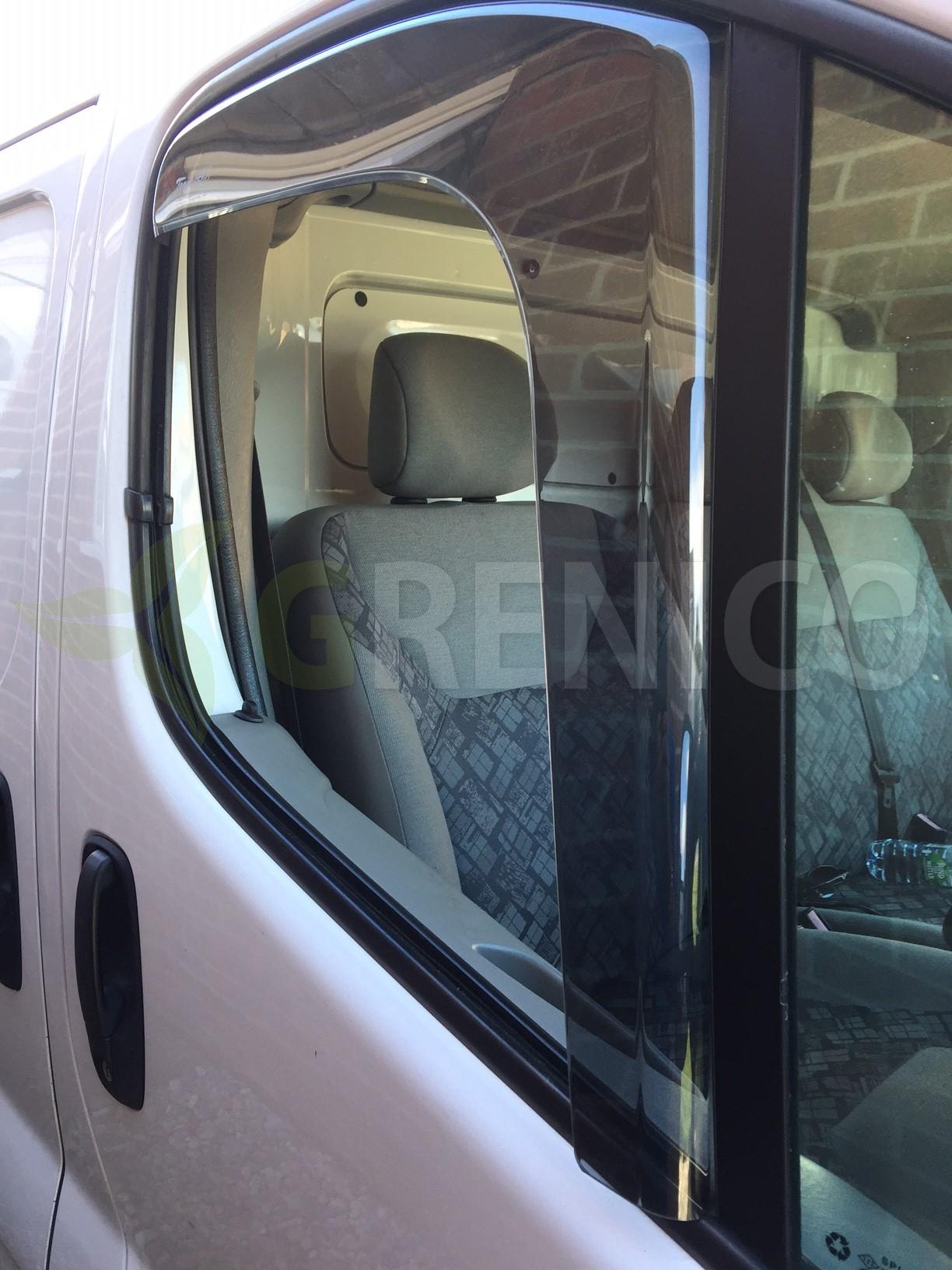 Kastenwagen vorne Windabweiser für Opel Vivaro B 2014