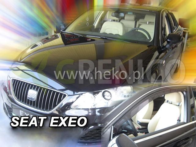 Windabweiser SEAT EXEO 4//5-türer 2008-2013 2-tlg HEKO dunkel Regenabweiser