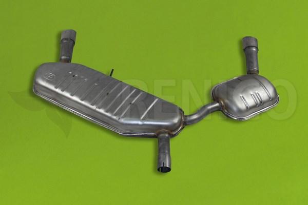 Endschalldämpfer OPEL SIGNUM VECTRA C 2.0T 2.2 3.0D V6 3.2 V6 2003-2008 Auspuff