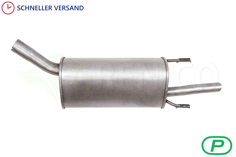Schalldaempferset-Auspuffanlage-Neu-OPEL-CORSA-B-1-0-Montagesatz-Auspuff