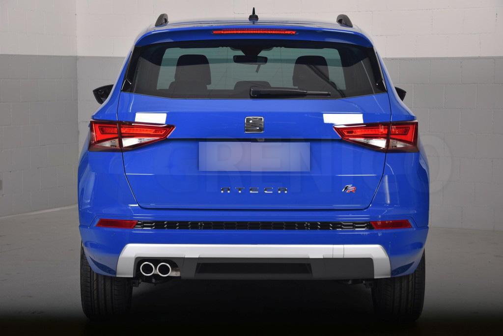 SEAT ATECA 5door SUV 2016-up 4pc wind deflectors HEKO TINTED new