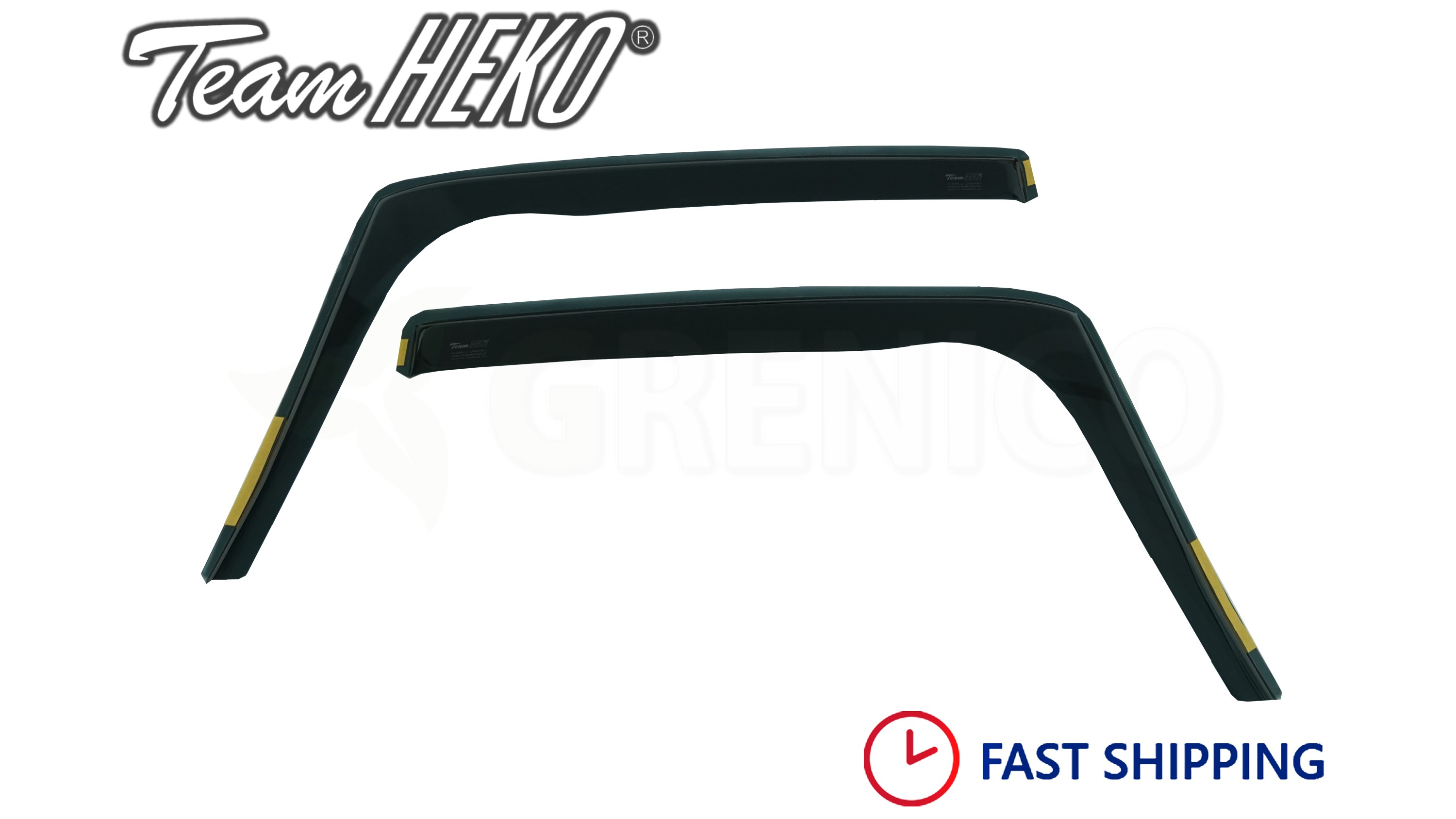 Sun Visors //Rain Shield //Wind Sheild Wind Deflectors for BMW 1 Series E87 5 door Hatchback 2004-11 ISPEED Tinted Wind Deflectors