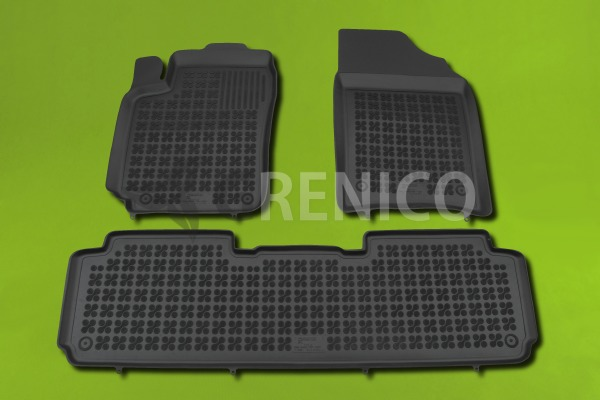 citroen xsara picasso 3 pi ces 2000 2010 tapis de sol en caoutchouc ebay. Black Bedroom Furniture Sets. Home Design Ideas